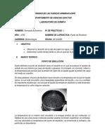 Laboratorio Punto de Ebullicion - Fernando Echeverria