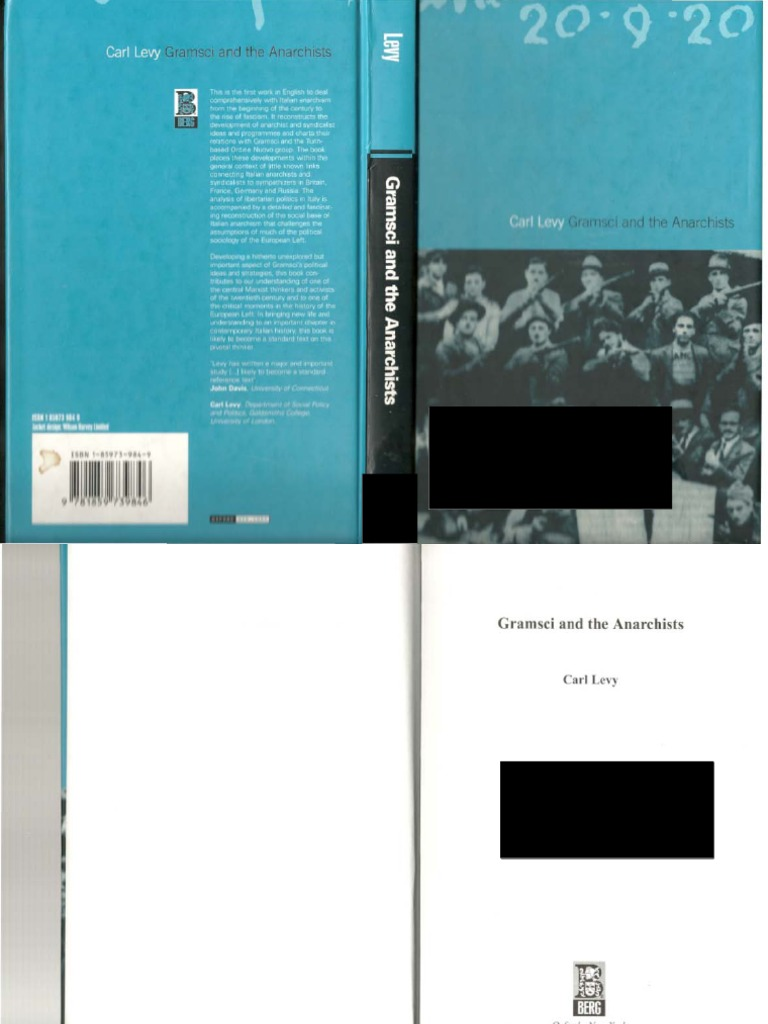 Andrea Londo Nua levy, carl - gramsci and the anarchists