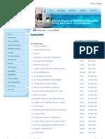PBTE- Courses Detial