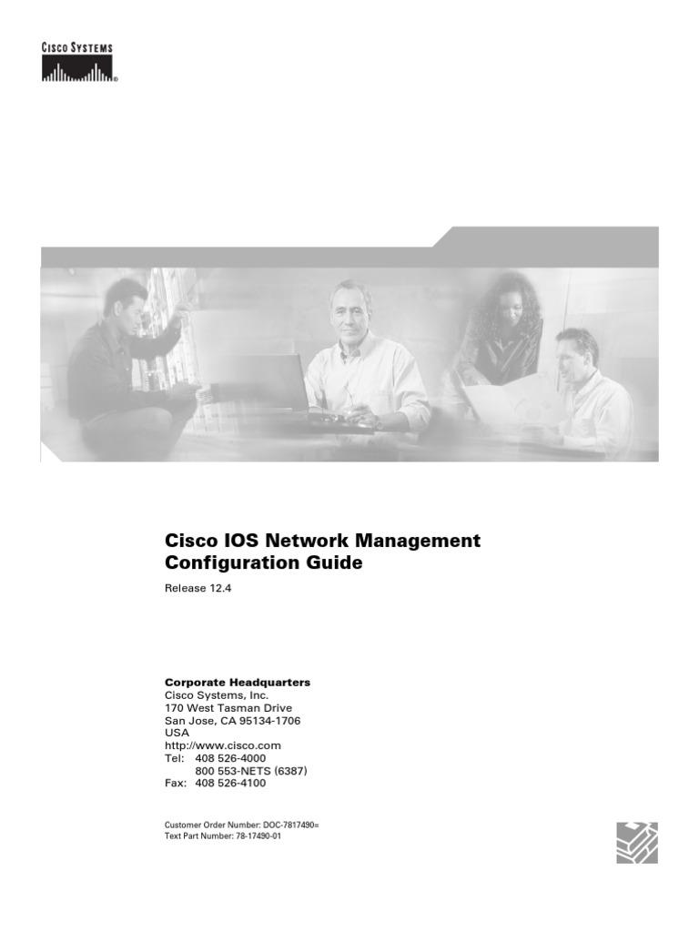 Cisco IOS Network Management Configuration Guide, Release