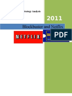 Financail & Strategy Analysis of Net Flex & Blockbuster Review