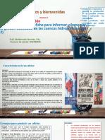 (día 2)Conocemos más del afiche para informar y fomentar la gestión adecuada de las cuencas hidrográficas