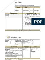 Planificación Unidad Plan Retorno a Clases Artes Visuales 5 y 6 A
