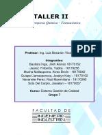 Taller II - GRUPO 7
