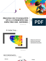 Proceso de Evaluación TEA PPT