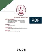 Avance 2 Proyecto Final - Grupo 7 - Ml452a - Copia