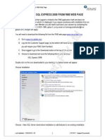 Installing SQLExpress 2008 from RMS WEB Page.doc