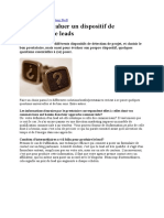 Analyse Des Leads