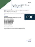SCCMDriverManagement