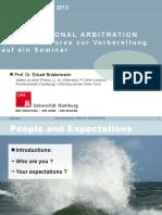 Crash Course International Arbitration 2013-04-02