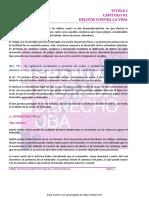 RESUMEN DERECHO PENAL - PARTE ESPECIAL DE D´ALESSIO