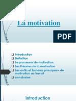 La motivation.pptx