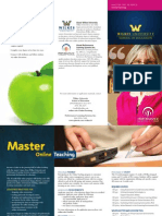 Wilkes_Online_Teaching_Masters_Brochure