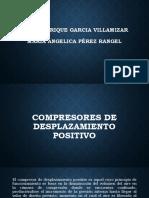 Compresores de Desplazamiento Positivo