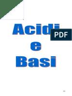 Acidi e Basi - II