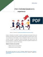 actividad 3 desarrollando liderazgo