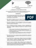 DECRETO CREACIÓN IDTRACESAR - DECRETO 100 DE 2018