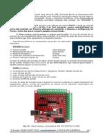 Manual Datasheet Interface Placa Controladora CNC via porta USB RnR R08 ECO MOTION 2.0 - 4 Eixos para Mach3