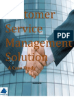 Customer Service Management Solution - Case Study