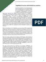 AVB_ Eficacia del control de legalidad de actos administrativos exentos_