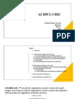 Acidul Uric