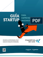 Guia Startup para Emprendedores Ingeniosos