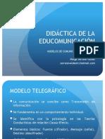 Didáctica. Actividad 2. Modelos de Comunicación.