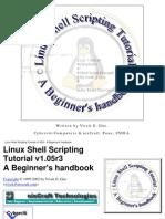 linux - shell scripting tutorial - a beginner's handbook