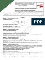 Examen Matematicas CCSS Selectividad Madrid Junio 2016 Enunciado (2)