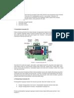 Generator DC merupakan sebuah perangkat mesin listrik dinamis yang mengubah energi mekanis menjadi energi listrik