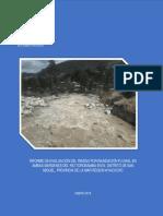 4487 Informe de Evaluacion Del Riesgo Por Inundacion Fluvial en Ambas Margenes Del Rio Torobamba en El Distrito de San Miguel Provincia de La Mar Region Ay