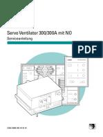 Siemens Servo 300,300A NO - Service Anleitung
