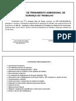 Modelo Certificado - NR18