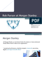 Morgan Stanley a One Firm Firm | Performance Appraisal