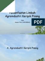 Pemanfaatan Limbah Agroindustri Keripik Kentang