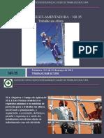 NR 35 - Curso de Capacitação Em Segurança e Saúde No Trabalho Em Altura - 00657 [ E 9 ]-3
