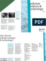 Glyndŵr University MRes Polymer Science and Technology Leaflet