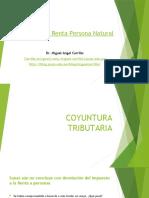 Diplomado en Derecho Tributario Impuesto a La Renta Persona Natural