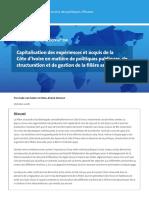 DP 234 Rapport Capitalisation Anacarde Cote DIvoire 1