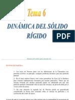 6 Dinamica Del Solido Rigido(Tema)