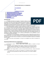 Funcion Jurisdiccional Del Estado Jurisdiccion y Competencia