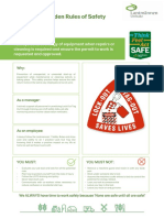 7 Global Golden Rules of Safety - Rule 5 - LOTO & Work Permit - Draft