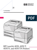 hp laserjet 4050n quick reference guide