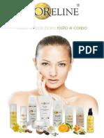 Cosméticos para rosto e corpo