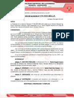 214 Designacion de Sub Gerente de Desarrollo Social