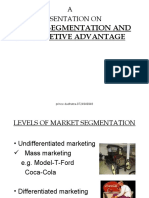 Market Segmentation and Competetive Advantage-prince Dudhatra-9724949948