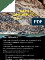 GEOLOGIA  Rocas metamórficas