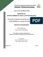 ParadaMolinaPaulo Propuesta de Gestión de Drenaje Pluvial Hacia La Sustentabilidad en Colonia de Xalapa, Ver
