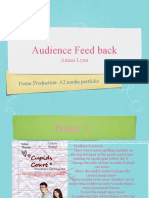 Audience research for film poster