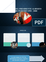 Gobierno Del Presdiente Alberto Fujimori Periodo 1993